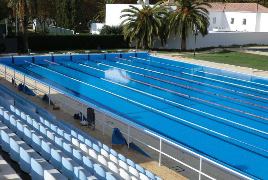 Sotecnisol engenharia reabilita o da piscina de loul for Piscina olimpica castellon