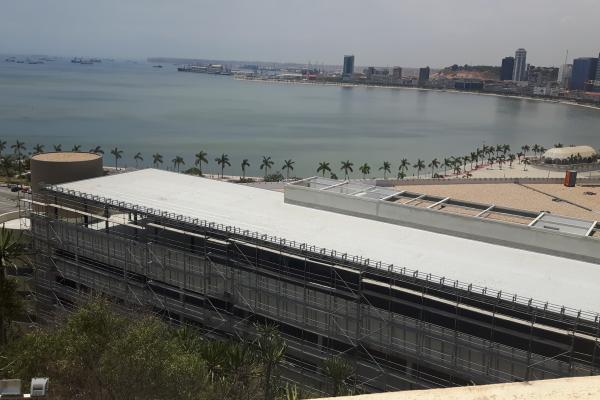 Sotecnisol Angola na obra do Shopping Fortaleza
