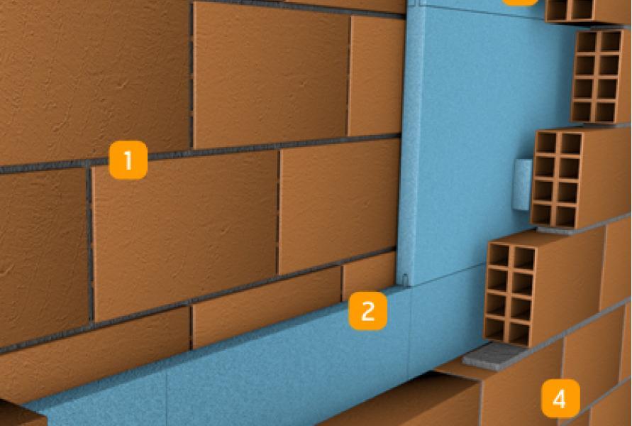 Isolamento t rmico paredes duplas - Placas decorativas para pared interior ...