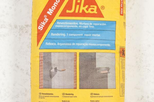 Cimentos especiais - Sika monotop 612 ...